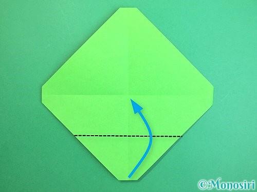 折り紙でみかんの折り方手順7