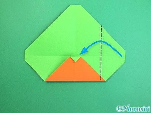 折り紙でみかんの折り方手順9