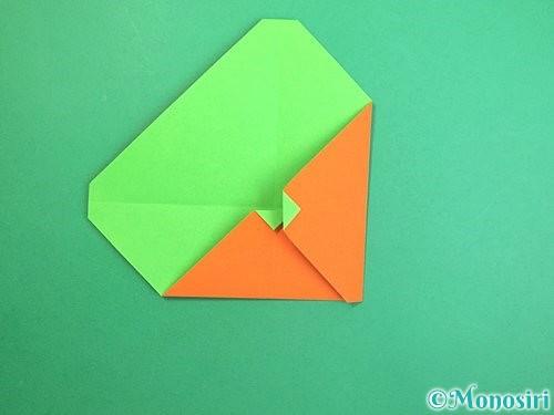 折り紙でみかんの折り方手順10
