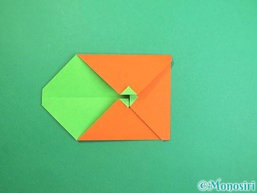 折り紙でみかんの折り方手順12