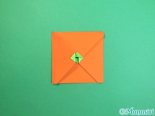 折り紙でみかんの折り方手順14