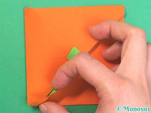 折り紙でみかんの折り方手順16