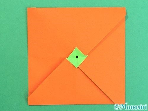 折り紙でみかんの折り方手順17