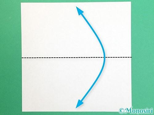 折り紙で鏡餅の折り方手順25