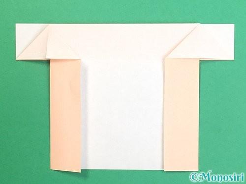 折り紙で鏡餅の折り方手順37