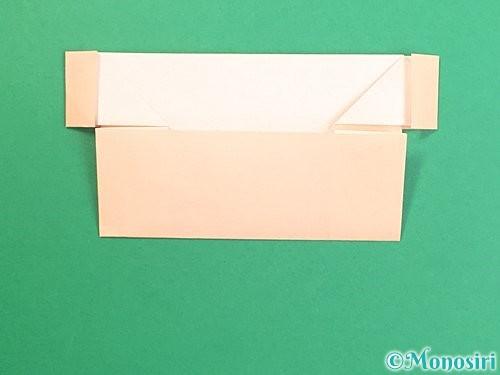 折り紙で鏡餅の折り方手順41