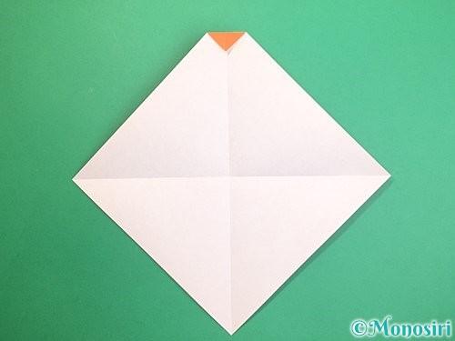 折り紙で鏡餅の折り方手順4