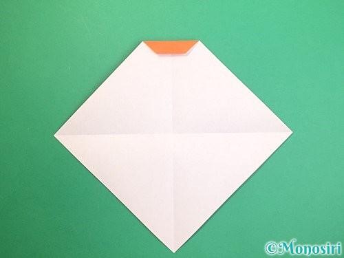 折り紙で鏡餅の折り方手順6