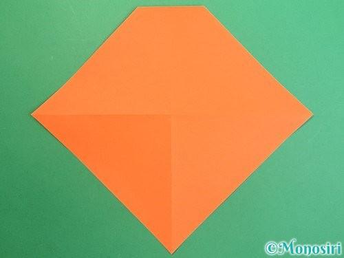 折り紙で鏡餅の折り方手順7