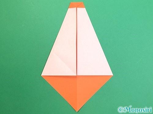 折り紙で鏡餅の折り方手順9