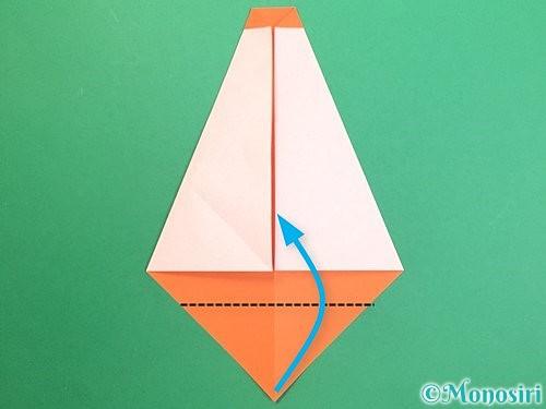 折り紙で鏡餅の折り方手順10