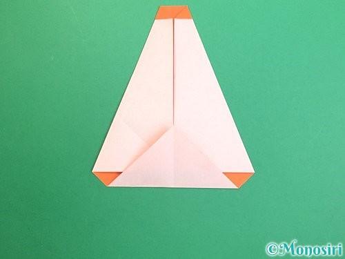 折り紙で鏡餅の折り方手順11