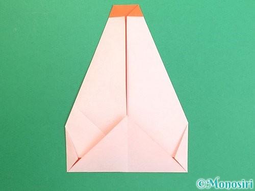 折り紙で鏡餅の折り方手順13