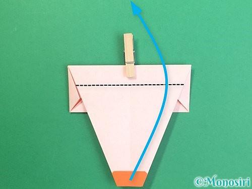 折り紙で鏡餅の折り方手順16