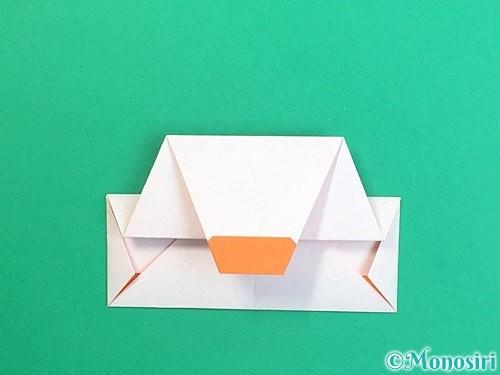 折り紙で鏡餅の折り方手順19