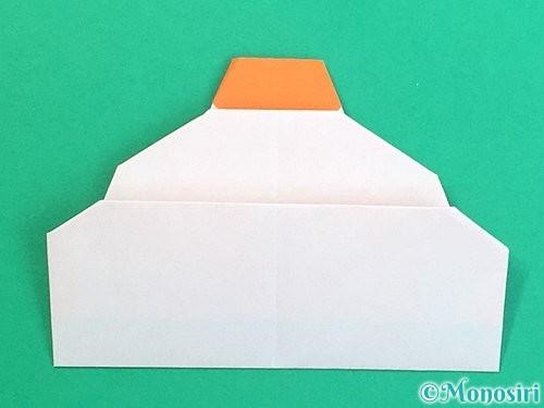 折り紙で鏡餅の折り方手順24