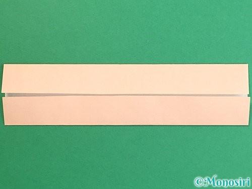 折り紙で羽子板と羽根の折り方手順7