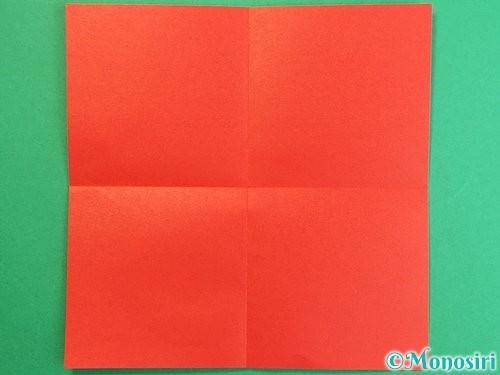 折り紙で羽子板と羽根の折り方手順22