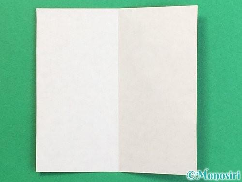 折り紙で羽子板と羽根の折り方手順25