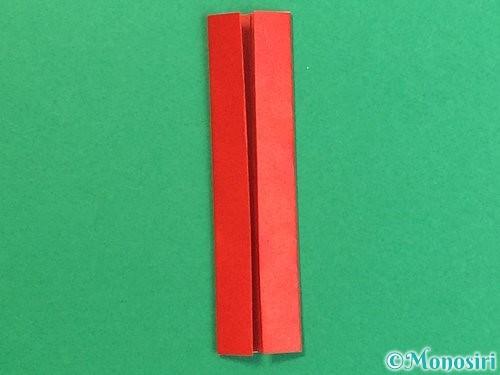 折り紙で羽子板と羽根の折り方手順29