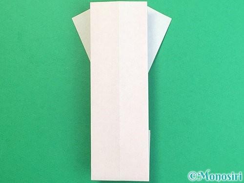 折り紙で羽子板と羽根の折り方手順38