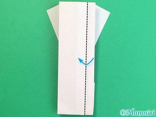 折り紙で羽子板と羽根の折り方手順41