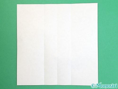 折り紙で獅子舞いの折り方手順4