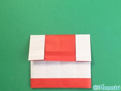 折り紙で獅子舞いの折り方手順19