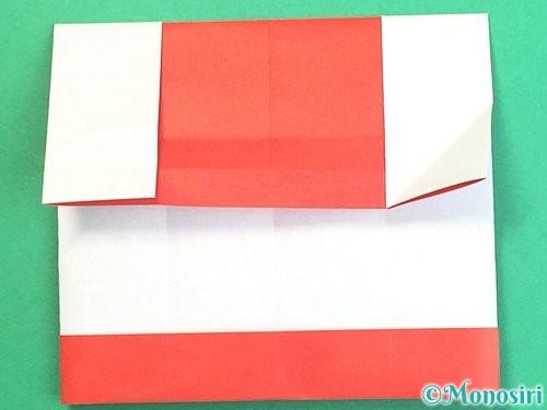 折り紙で獅子舞いの折り方手順21