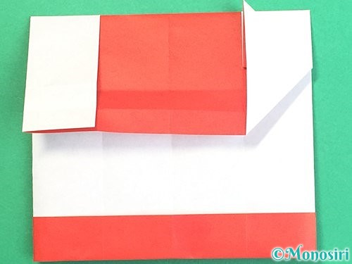 折り紙で獅子舞いの折り方手順24