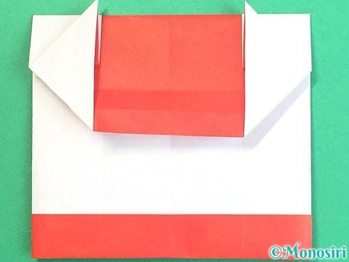折り紙で獅子舞いの折り方手順25