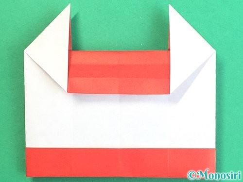 折り紙で獅子舞いの折り方手順27