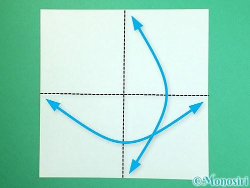 折り紙で獅子舞いの折り方手順32