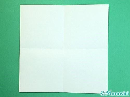 折り紙で獅子舞いの折り方手順33