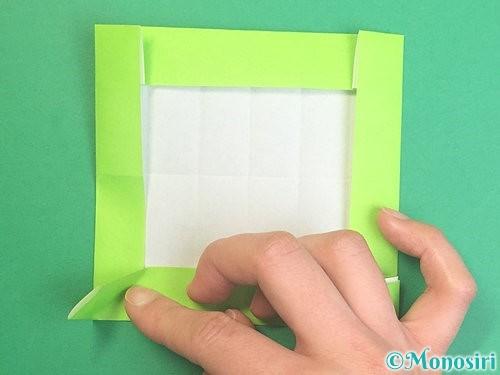 折り紙で獅子舞いの折り方手順48