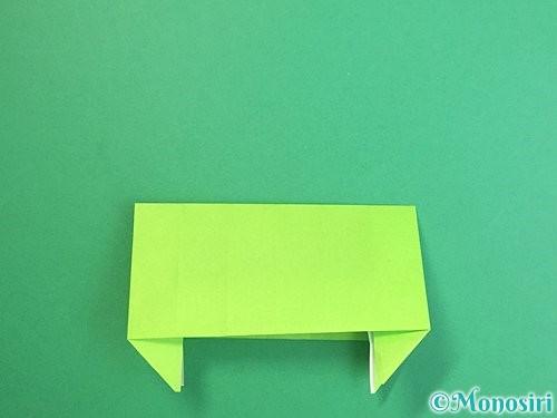 折り紙で獅子舞いの折り方手順53
