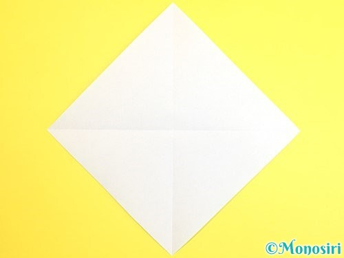 折り紙で門松の折り方手順2