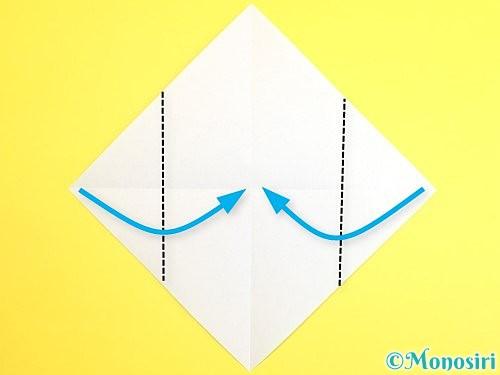 折り紙で門松の折り方手順3