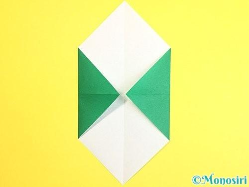 折り紙で門松の折り方手順4