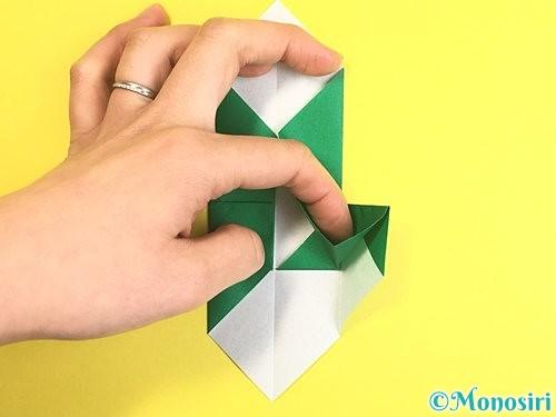 折り紙で門松の折り方手順14