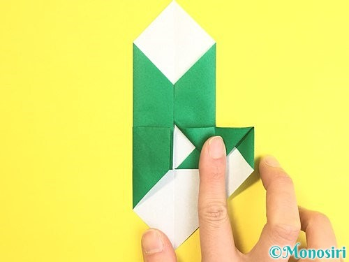折り紙で門松の折り方手順15
