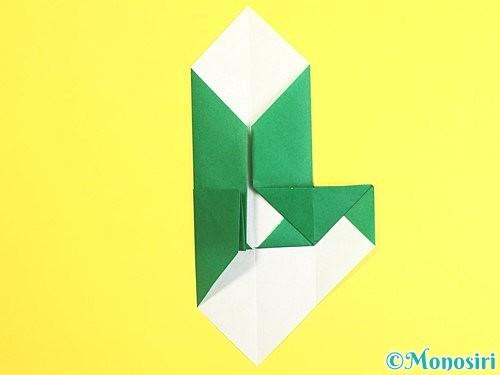 折り紙で門松の折り方手順16