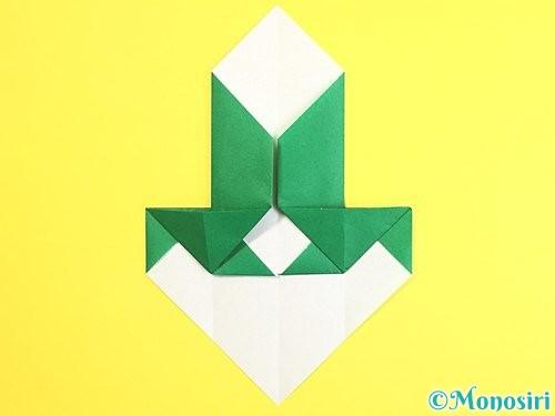 折り紙で門松の折り方手順17
