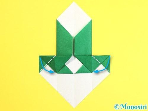 折り紙で門松の折り方手順18