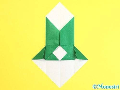折り紙で門松の折り方手順19
