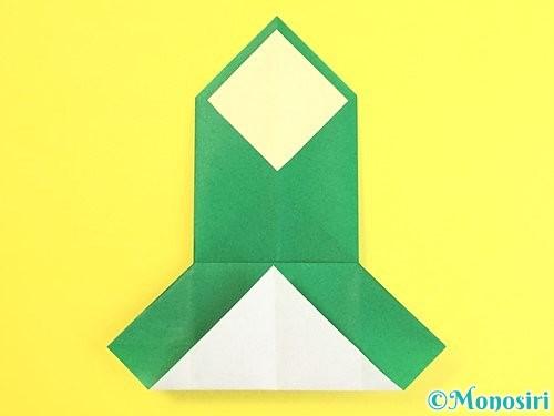 折り紙で門松の折り方手順23