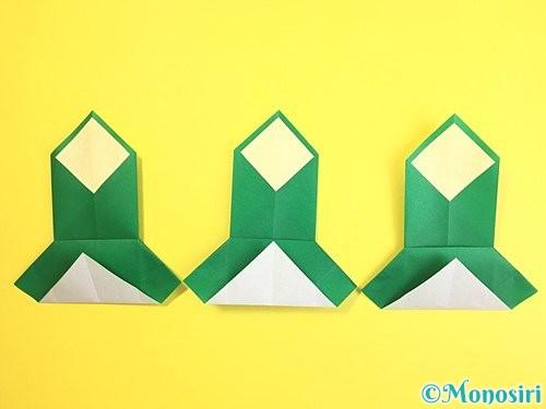 折り紙で門松の折り方手順24
