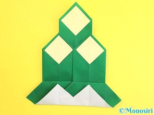 折り紙で門松の折り方手順25