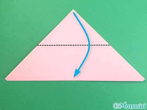 折り紙でポチ袋の折り方手順7