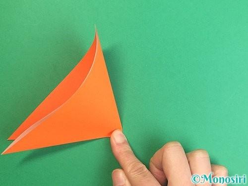 折り紙でポチ袋の折り方手順4